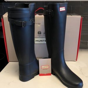 Hunter Original Tall Refined w/ BackStrap NWOT